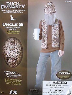 Duck Dynasty Uncle Si Costume Size 4-6, 8-10, 12-16 - NWT- InCharacter - A&E (Uncle Si Costume)