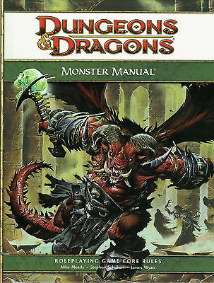 Dungeons & Dragons: Monster Manual (4th Edition), Roleplaying Game, English, NEU