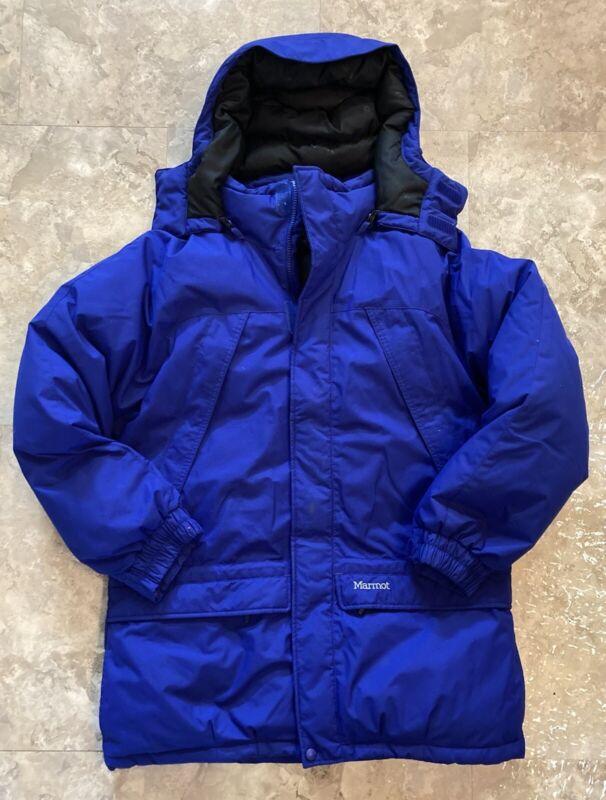 Marmot Boys Yukon Parka 650 Fill Down Membrain Jacket XL