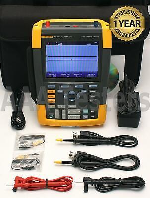 Fluke 190-202 Scopemeter 2.5gss 2 Channel 200mhz Oscilloscope 190 202