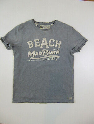 Beach-herren Shirt (Scotch & Soda - Gr.  S - T- Shirt - Beach -  Herren - Grau - guter Zustand !)