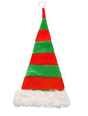 d Hat Santa Claus Fancy Dress Party Adult Kids Accessory  (Kid Elfen Kostüme)