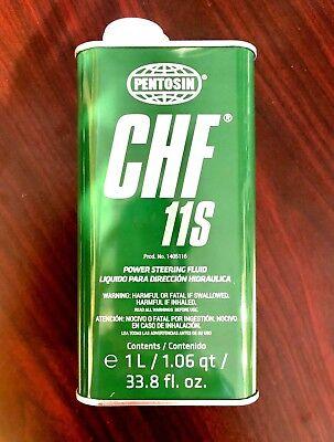 Power Steering Fluid-Pentosin CHF 11S Synthetic Hydraulic Fluid - 1 Liter German