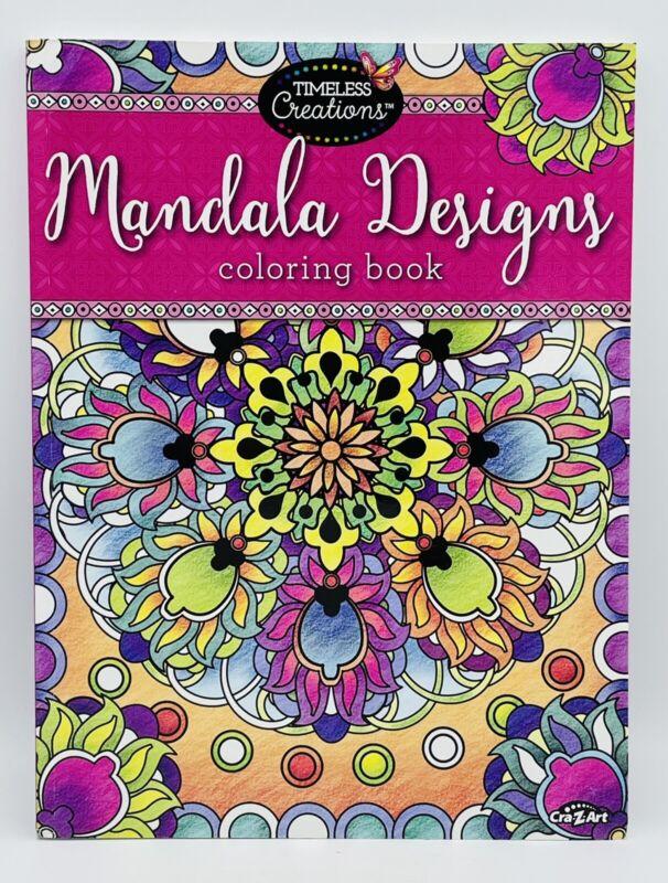 Cra-Z-Art Timeless Creations Adult Coloring Books: Mandala Creative Coloring