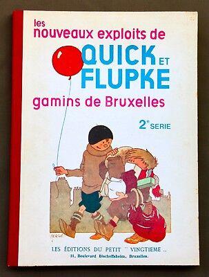 QUICK ET FLUPKE GAMINS DE BRUXELLES 2E SERIE 1981 HC - ZW/W - LIMITE 211/250 ex.