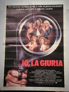 Manifesto-IO-LA-GIURIA-1982-ARMAND-ASSANTE-BARBARA-CARRERA-ALAN-KING-2F
