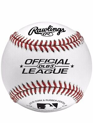 Rawlings Baseballs 12 Pack Bag Official League Size and Weight Recreational Use