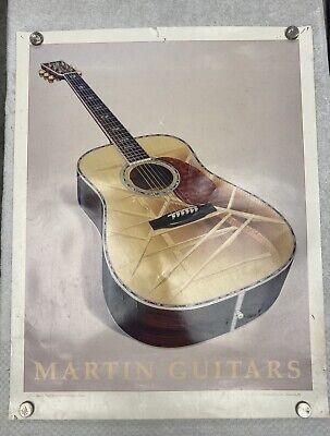 "RARE Vintage 1992 MARTIN GUITARS D-41 Dealer Poster 22""x28"" by Dale Gustafson"