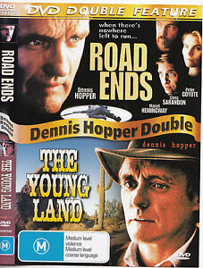 Road-Ends-1997-The-Young-Land-1959-Dennis-Hopper-2-Movie-DVD