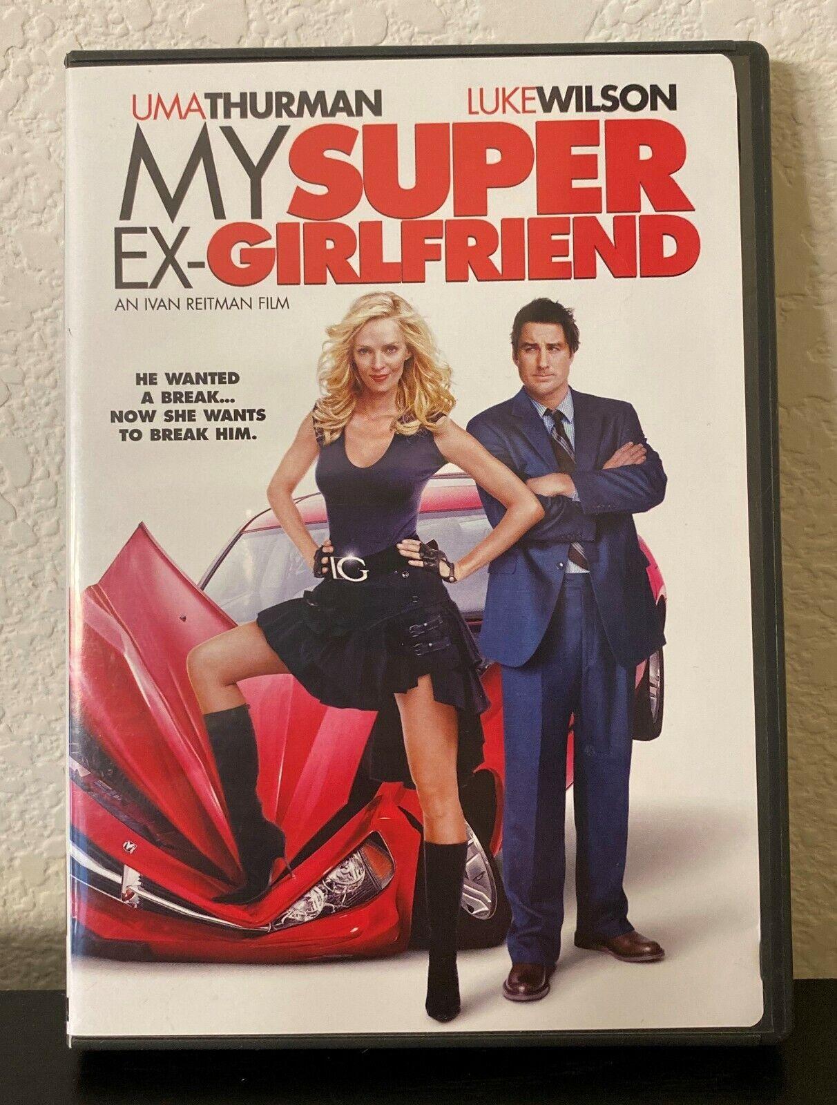 My Super Ex-Girlfriend DVD, 2006, Dual Side Uma Thurman Luke Wilson - $1.99