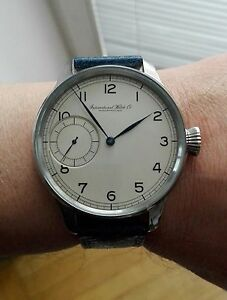 Custom made wrist watch with IWC Schaffhausen cal. 67, year 1940, UNIQUE - Warszawa, MAZOWIECKIE, Polska - Custom made wrist watch with IWC Schaffhausen cal. 67, year 1940, UNIQUE - Warszawa, MAZOWIECKIE, Polska