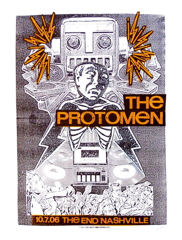 Protomen Concert Poster 2006