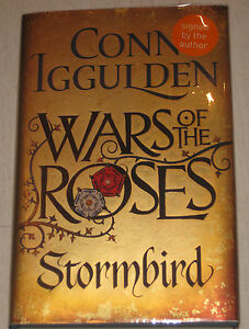 CONN-IGGULDEN-WARS-OF-THE-ROSES-STORMBIRD-UK-1-1-SIGNED-LIMITED-EDITION