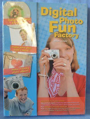 $25 Digital PHOTO Fun Factory Album CRAFT Activity Plate CREATE TShirt MUG Learn