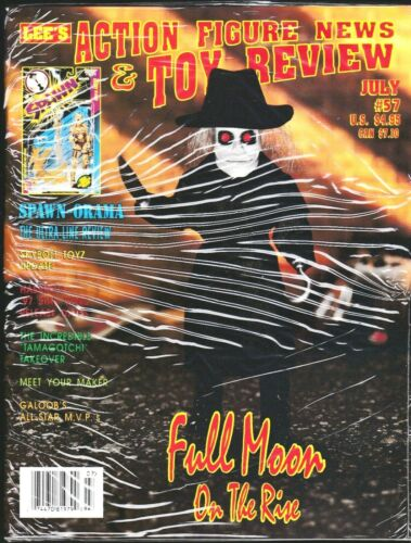 ACTION FIGURE NEWS AND TOY REVIEW MAGAZINE 57 1997 SPAWN PUPPET MASTER FULL MOON