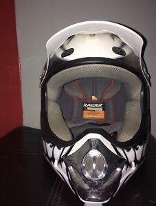 Skull Dirt Bike Helmet