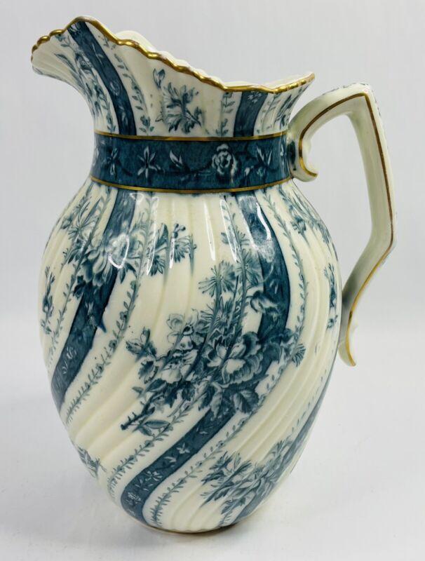Antique 1887 Powell Bishop & Stonier PB&S Oriental Ivory Chatsworth Design Jug
