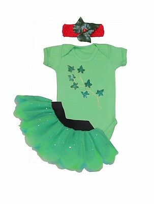 Super Villain Hero Poison Ivy Costume Baby Toddler 80S Fancy Dress Party - Toddler 80s Costume