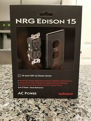AudioQuest NRG Edison Duplex 15 AMP Wall Outlet