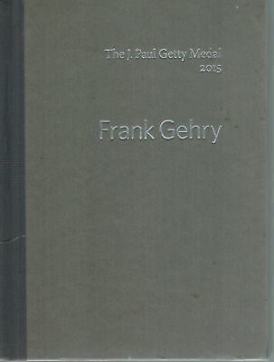 The J  Paul Getty Medal 2015  Frank Gehry 1St Edition Hc Book