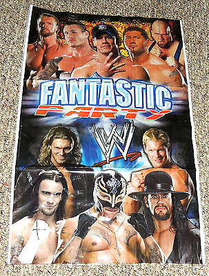 NEW ~WWE WRESTLING~  1- WALL BANNER DECORATION   19
