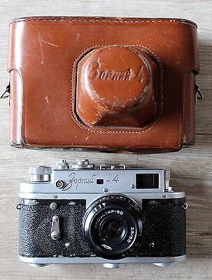 ZORKI 4K - russ. Kleinbildkamera mit Tasche