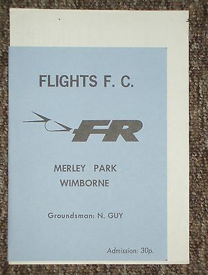 FLIGHT REFUELLING v Bournemouth Water Company 80's ?