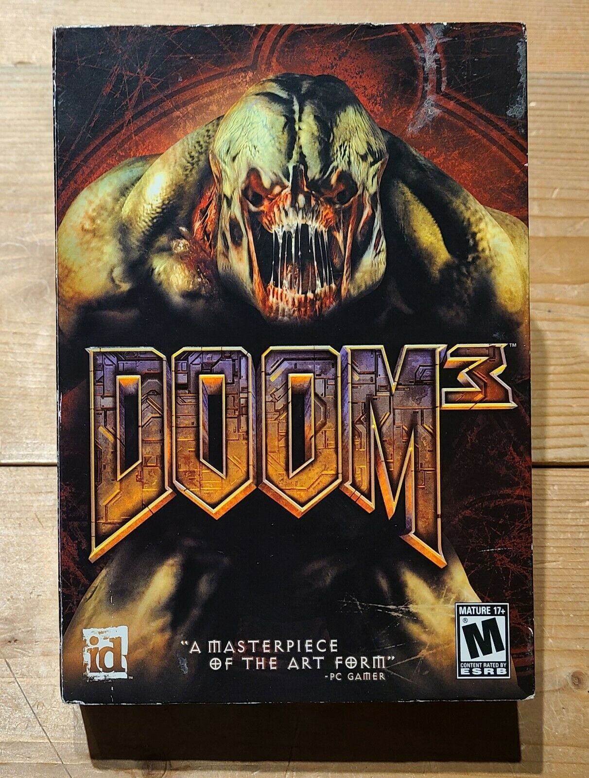 Computer Games - Doom 3 (PC, 2004) Big Box PC Computer Video Game, Complete!