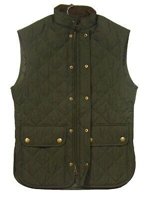 Barbour Men's Sage Green Lowerdale Quilted Gilet Full Zip Vest