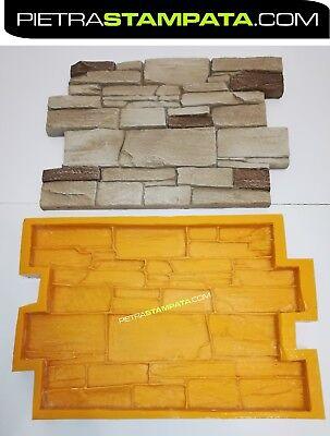 Finta pietra stampo usato vedi tutte i 40 prezzi for Listino prezzi pannelli finta pietra