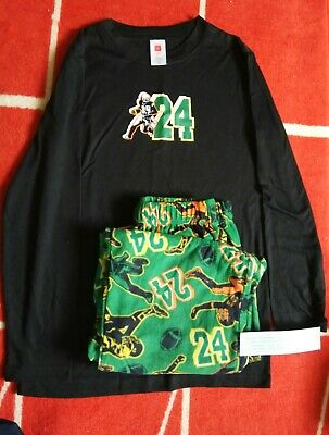 Pajama Set for boys FootBall spot s 2 pc size L new with tags - Football Pajamas For Boys