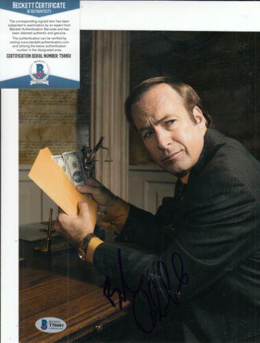 BOB ODENKIRK signed (BREAKING BAD) Better Call Saul 8X10 photo BECKETT T56601