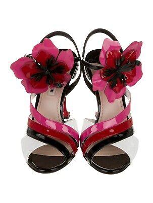 women black Miu Miu sandles size 38US  (8)