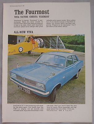1966 Vauxhall Viva Original advert