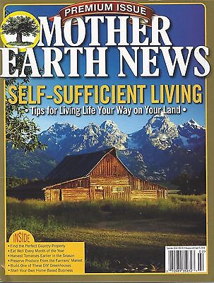 Mother Earth News Self Sufficient Living  Summer 2016  New   Free Ship