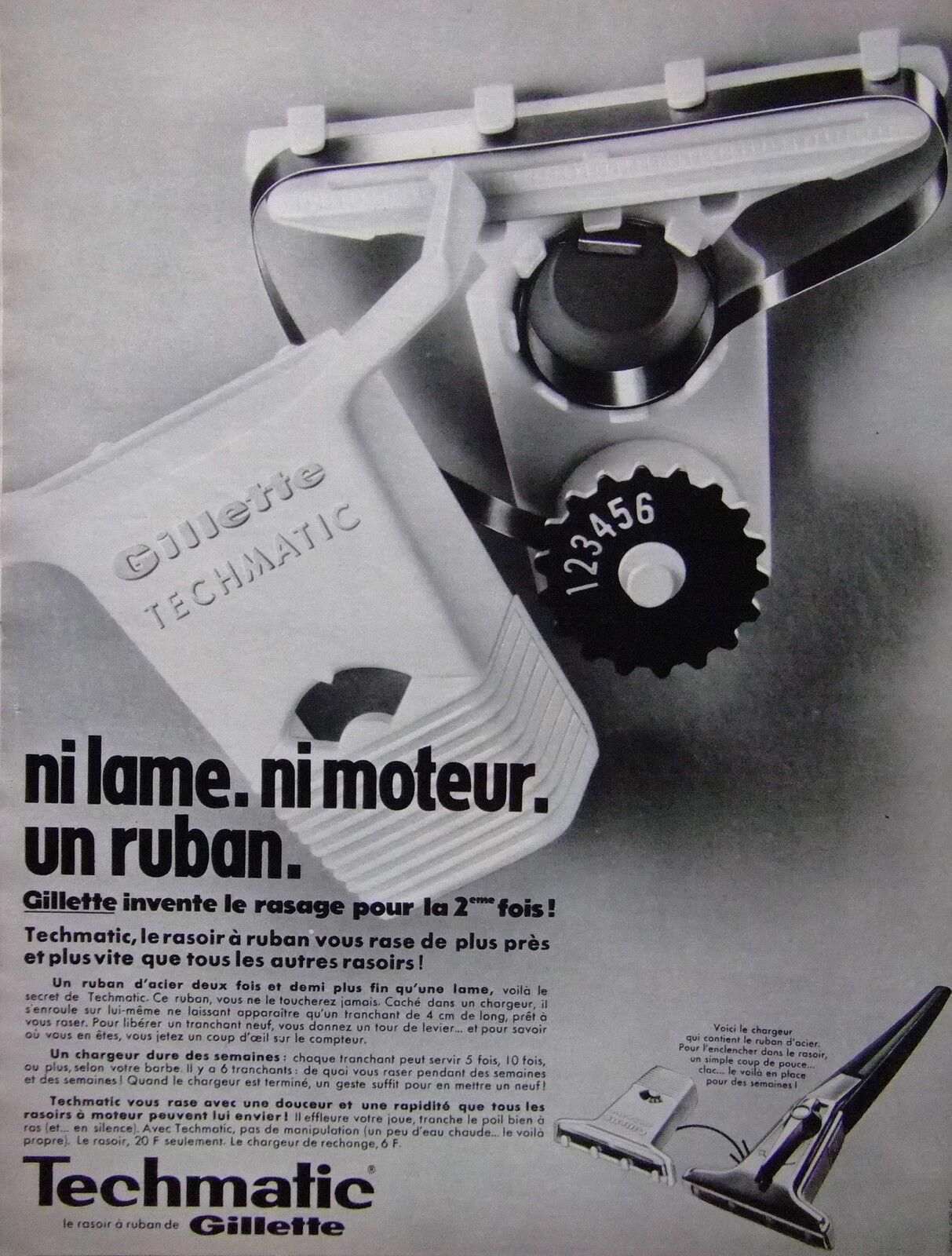 Gillette Techmatic - Schick Instamatic $(KGrHqN,!iEFBN)nnZKmBQjBbMKziQ~~60_57