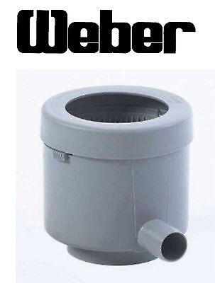 Regensammler Füllautomat Regendieb mit Filter bis Ø110mm grau/braun 950503014-15