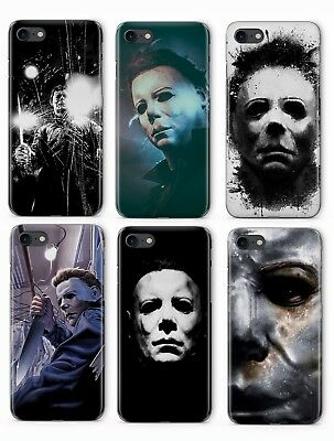 HALLOWEEN MYERS HORROR MOVIE PHONE COVER CASE FOR APPLE IPHONE (Horror Movies For Halloween)