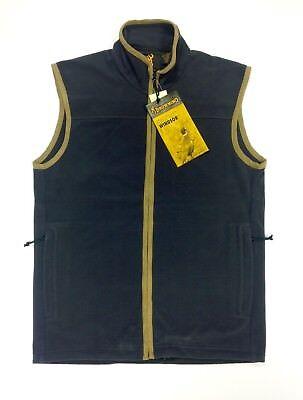 Browning Windsor Fleece Vest Gilet Waistcoat Blue Hunting/Shooting/Fishing Browning Shooting Vest