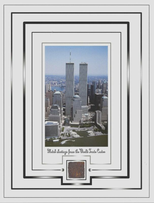 TWIN TOWERS, World Trade Center, WTC......METAL SHAVINGS......New York City, NYC