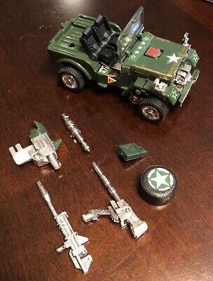 1980/1982 Takara Transformers Hound Autobot Army Jeep G1 Complete