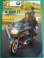 Bmw K1200lt K 1200 Lt Catalogo Depliant Brochure Reclame Pubblicita Prospekt 3 -  - ebay.it