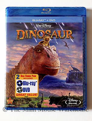 Disney Dinosaur Animated Movie Blu-ray & DVD Combo Pack English French & Spanish