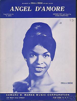 1962 John, Aviles,Strom,Poll / Della Reese Sheet Music (Angel D'Amore)