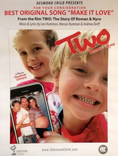 TWO: THE STORY OF ROMAN & NYRO Oscar consideration ad Best Song Desmond Child