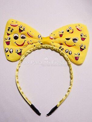 Emoji Headbands Emojis Bow Happy Face Emoji Love Emoji Party Favors Regalos Emoj