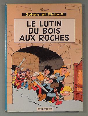 Johan et Pirlouit 3a Peyo Reedition 1967 Dupuis Dos Rond