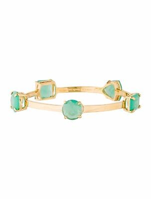Kate Spade Vegas Jewels Bangle Bracelet NWT Modern Chic Cool Blue Rat Pack Cool!