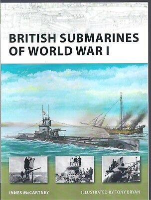 New Vanguard No. 145: British Submarines of World War I - Innes McCartney NEW