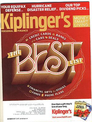 Kiplingers Personal Finance Magazine 12/17 BEST LIST CARS, CREDIT CARDS &